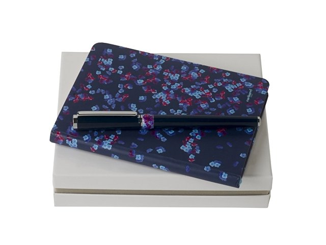 Подарочный набор: блокнот A6, ручка-роллер (арт. 60151)