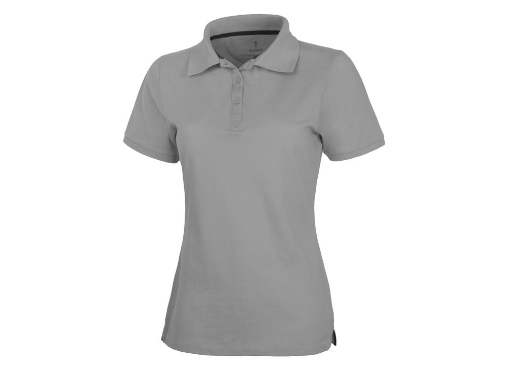 Рубашка поло Calgary женская, серый меланж