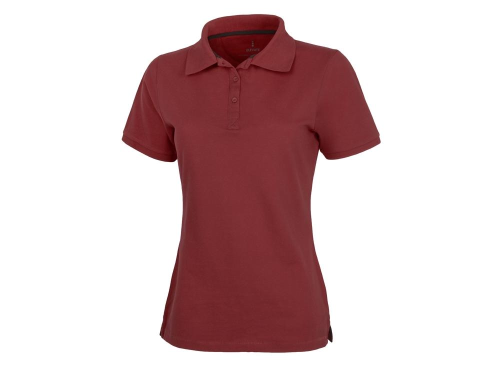 Рубашка поло Calgary женская, бургунди