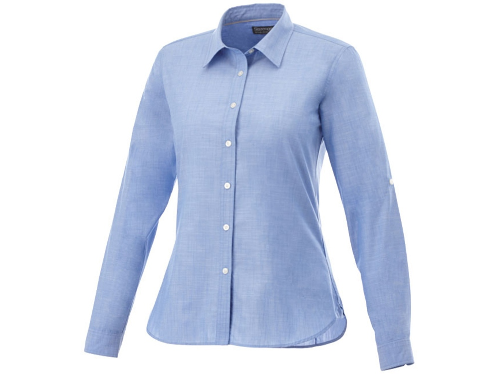Рубашка Lucky женская, светло-синий