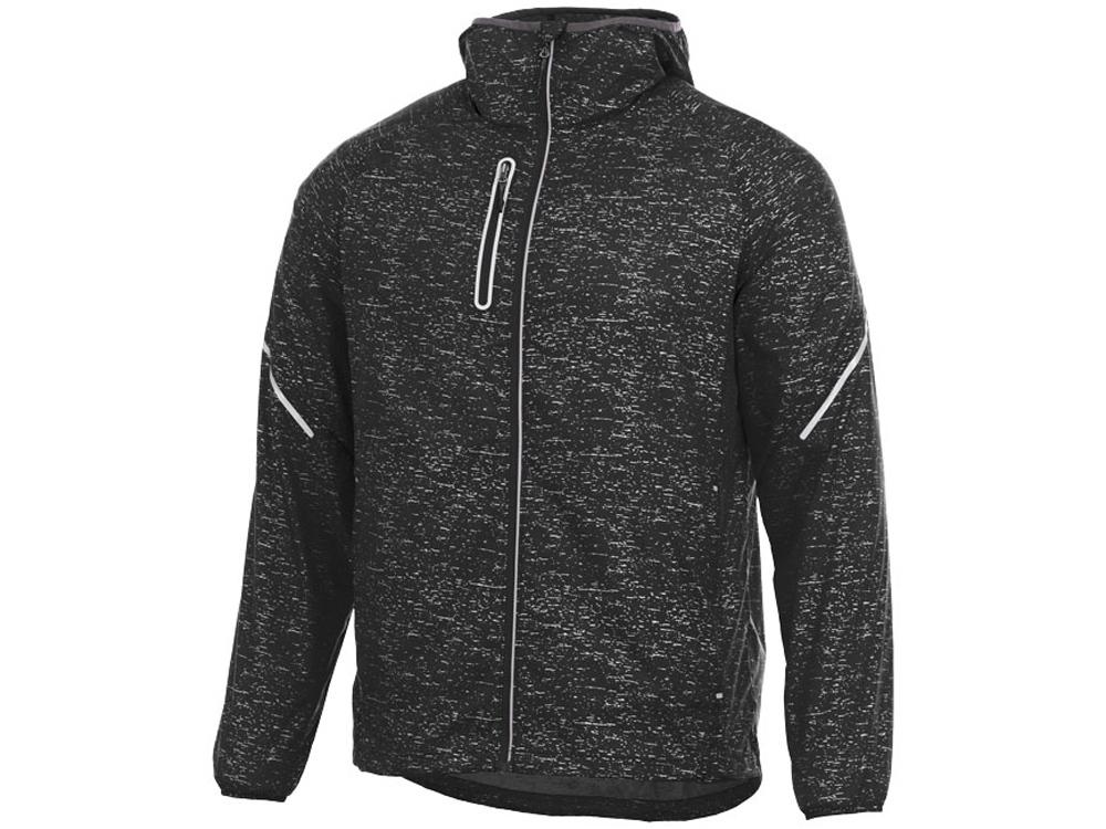 Куртка складная светоотражающая Signal мужская, черный