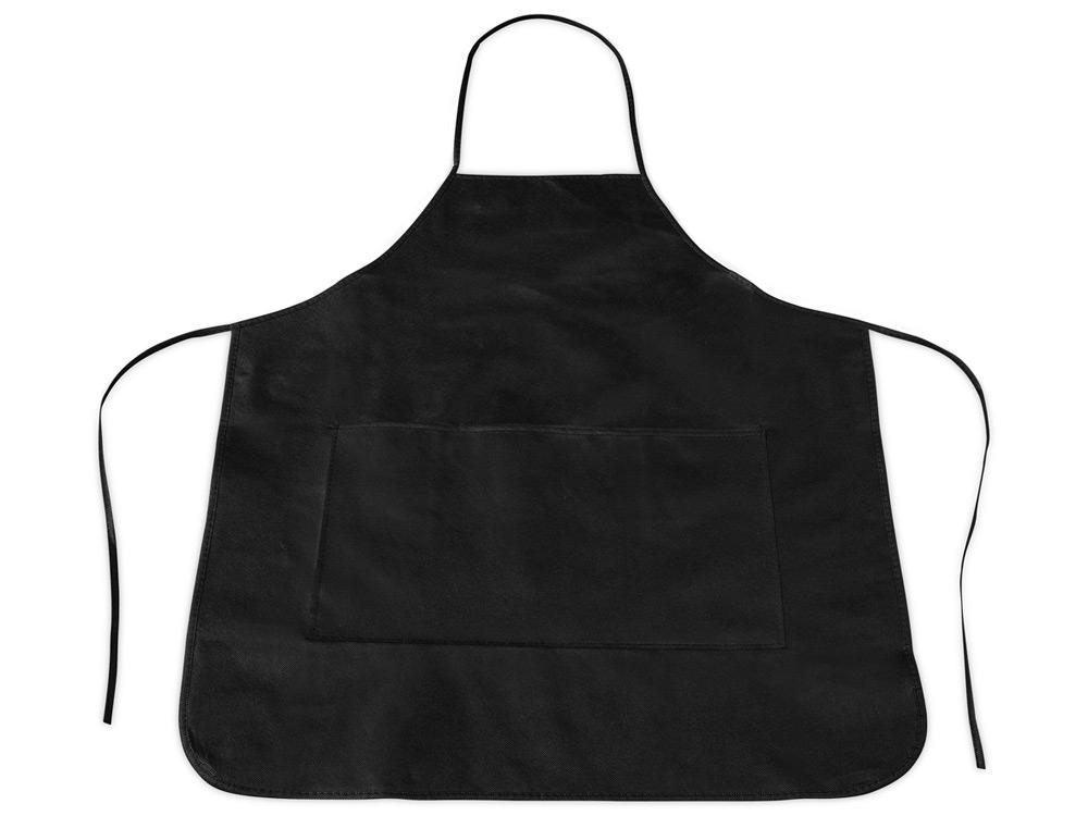 Фартук Cocina с карманом, черный