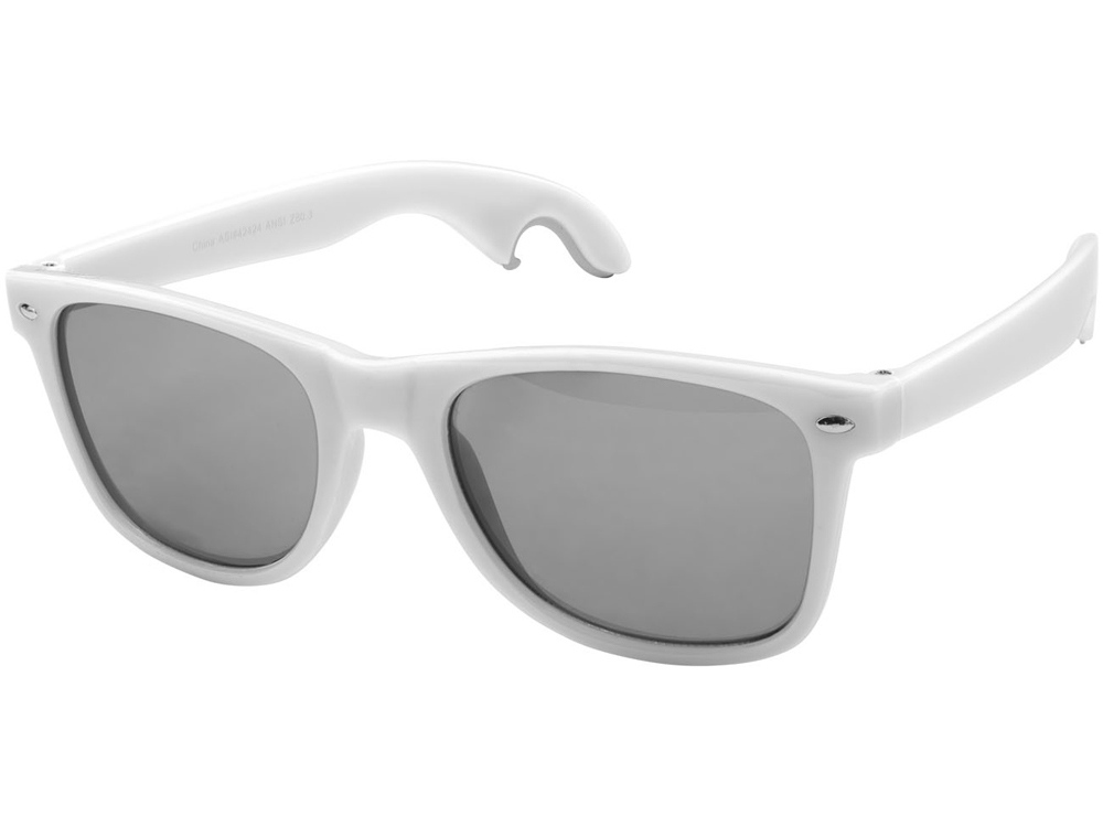 Солнцезащитные очки-открывашка, белый