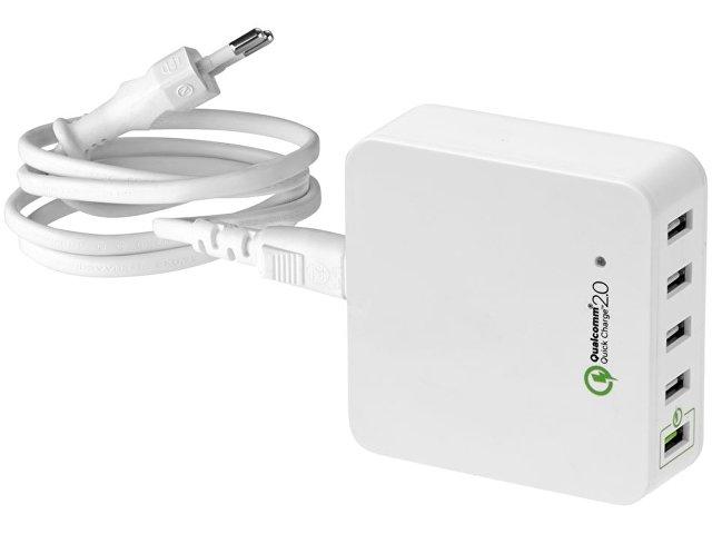 USB зарядка QC 2.0 с адаптером