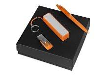 Подарочный набор Space Pro с флешкой, ручкой и зарядным устройством (арт. 700339.13)
