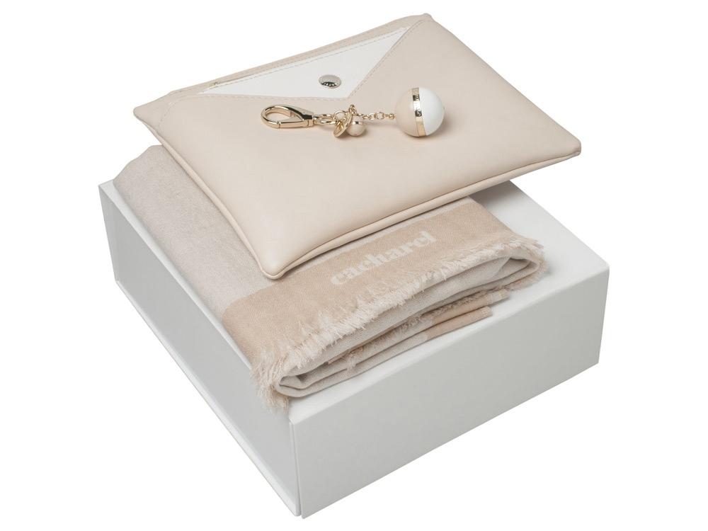 Подарочный набор Bird: брелок, шарф, сумочка. Cacharel