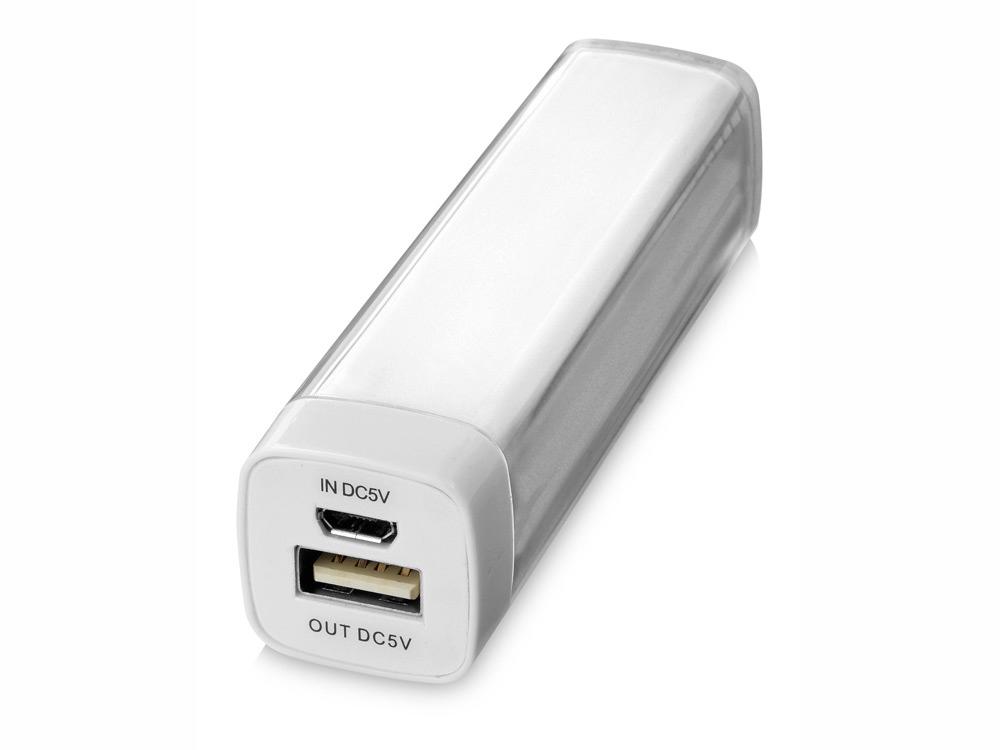 Портативное зарядное устройство Flash 2200 мА/ч, белый