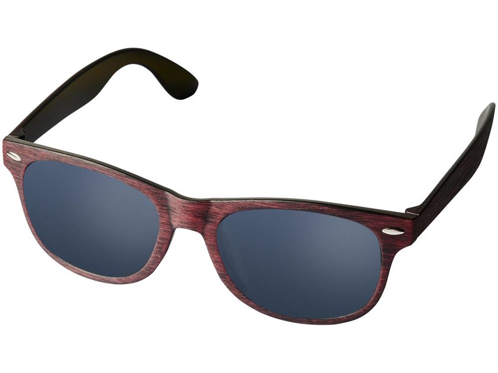 Солнечные очки Sun Ray с цветным покрытием, красный