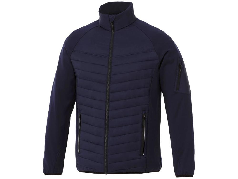 Утепленная куртка Banff мужская, темно-синий/черный