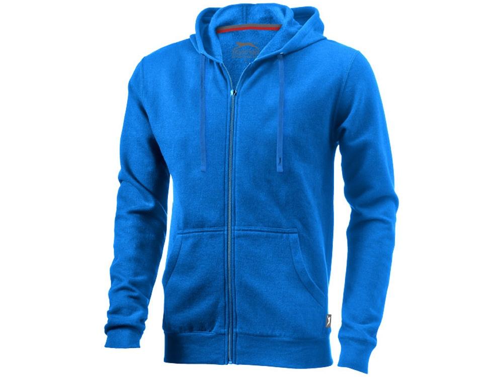 Толстовка Open мужская с капюшоном, небесно-голубой