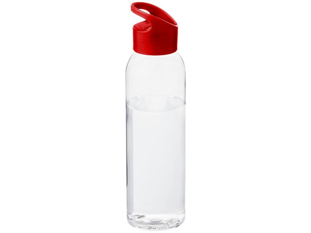 Бутылка Sky, прозрачный/красный