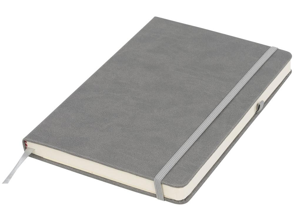 Блокнот Rivista среднего размера, серый