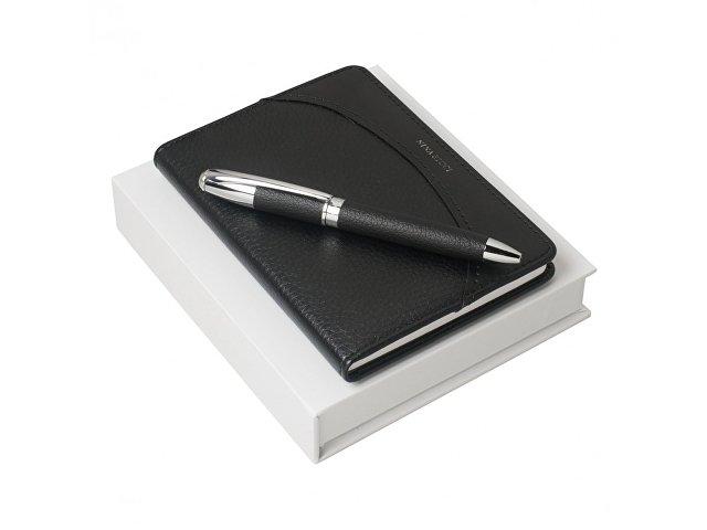 Подарочный набор Embrun: блокнот А6, ручка шариковая (арт. RPBM628)