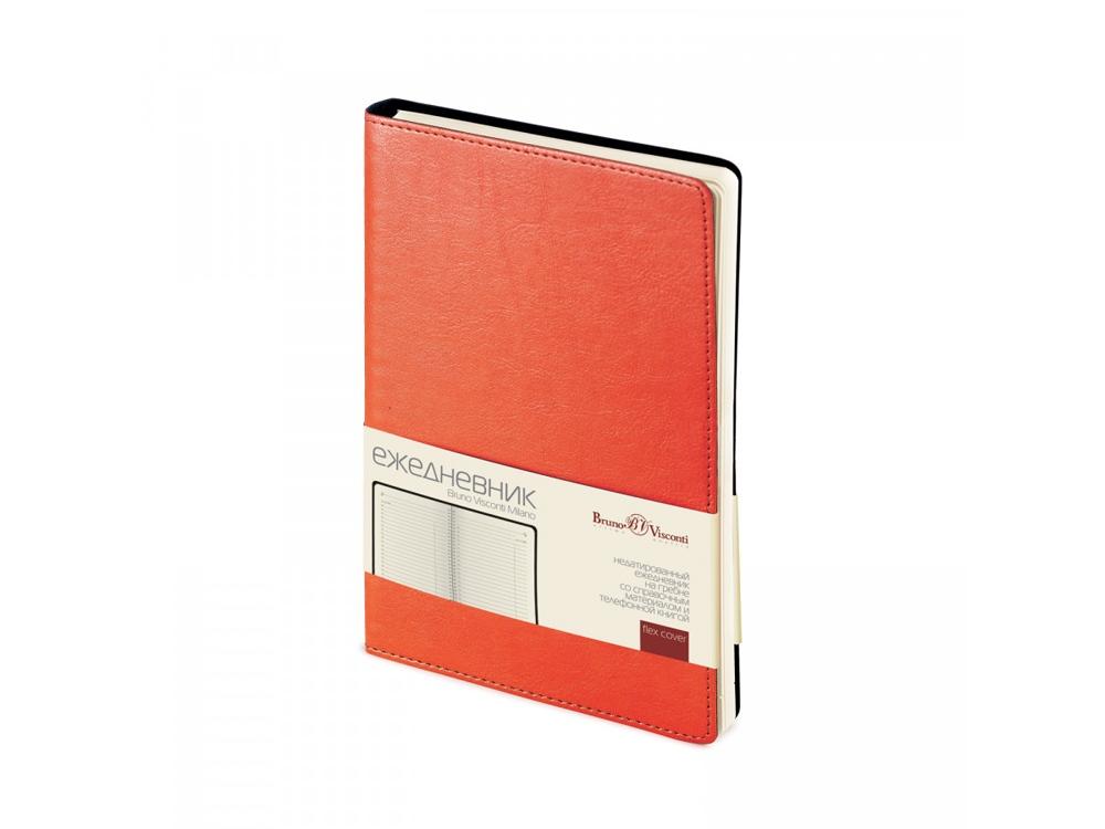 Ежедневник А5 недатированный Milano, оранжевый