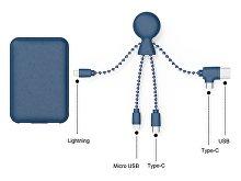 Портативное зарядное устройство «BioPack» c кабелем «Mr. Bio», 5000 mAh (арт. 965114), фото 3