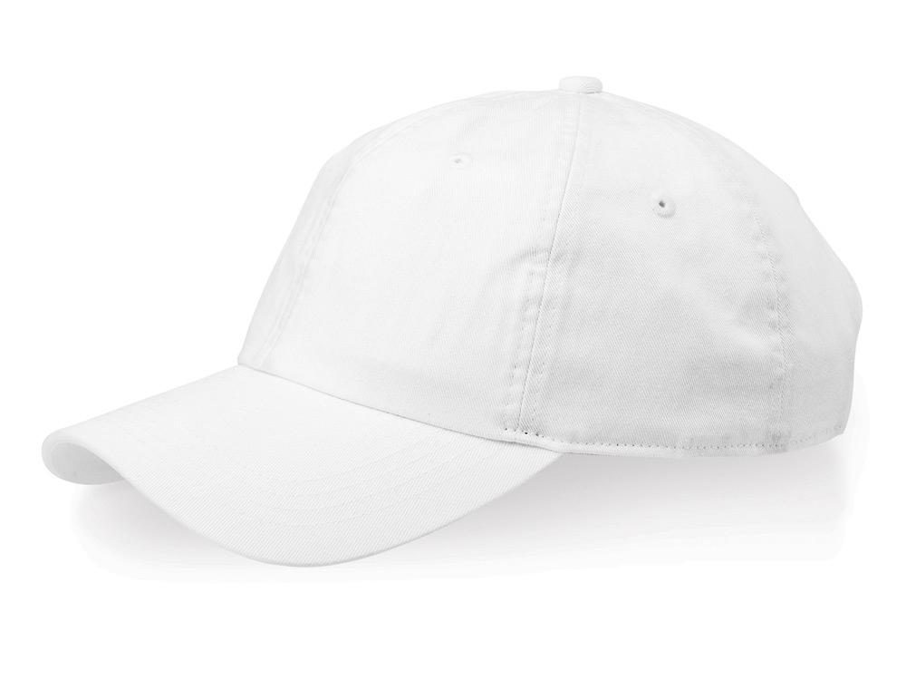 Бейсболка Verve 6-ти панельная, белый