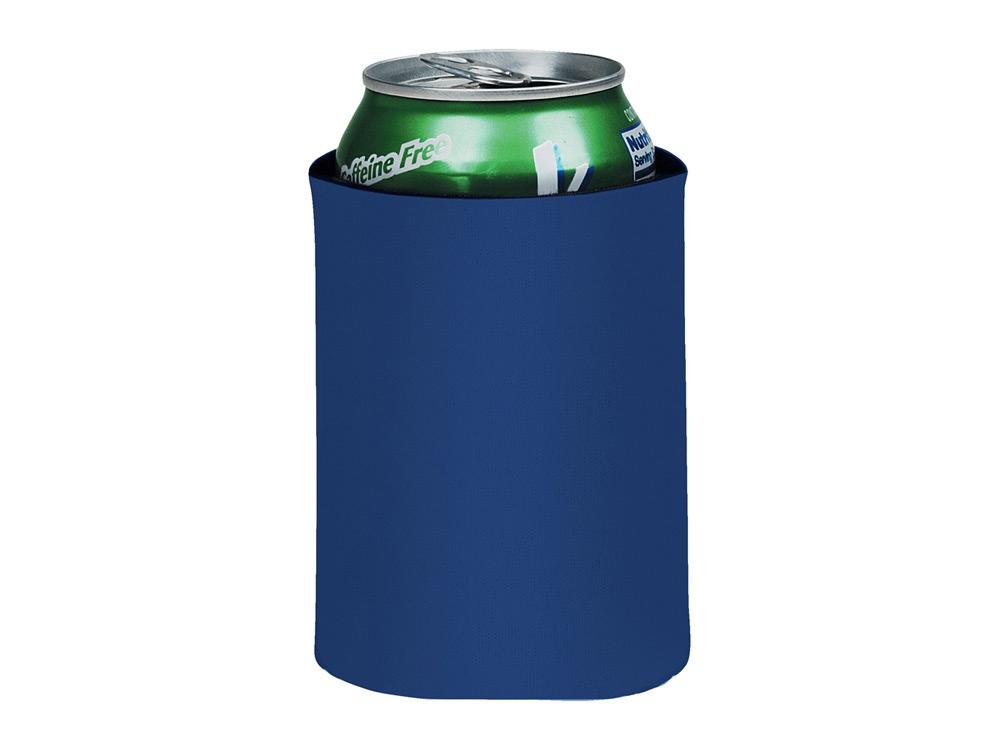 Складной держатель-термос Crowdio для бутылок, ярко-синий