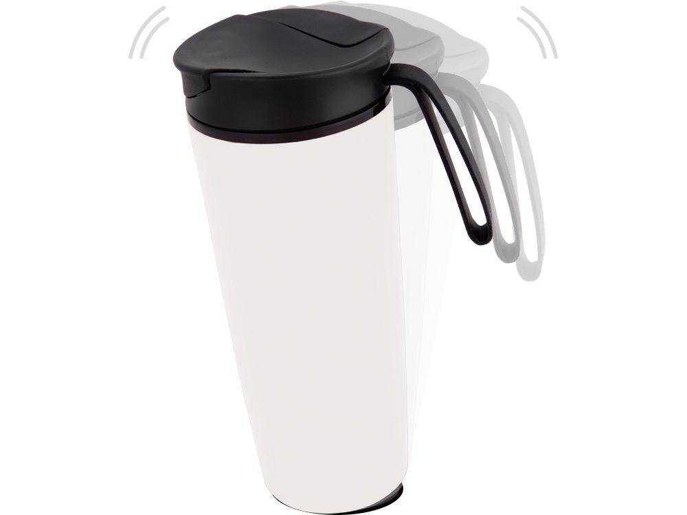 Термокружка Годс 470мл на присоске, белый