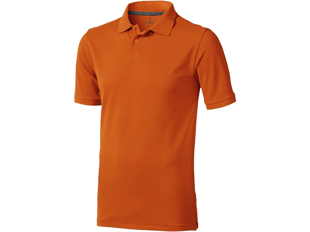 Рубашка поло Calgary мужская, оранжевый