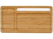Беспроводное зарядное устройство-органайзер из бамбука «Timber» (арт. 590968), фото 3