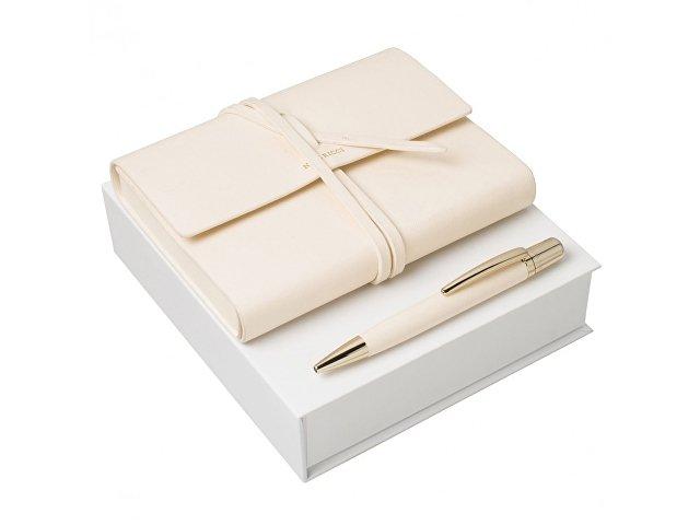 Подарочный набор: блокнот A6, ручка шариковая (арт. RPBM630G)