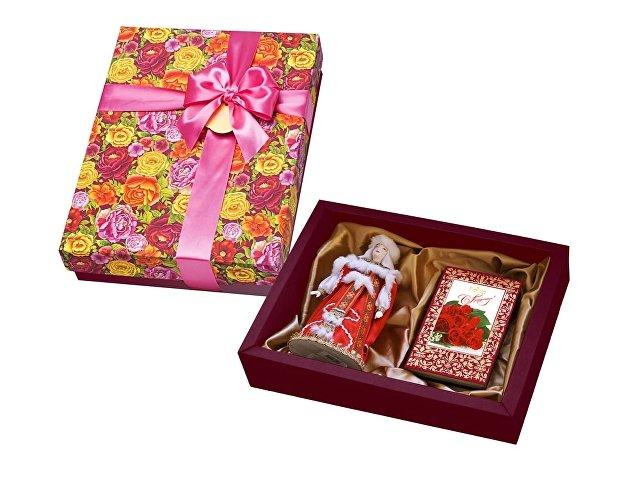 Набор «С Праздником»: кукла декоративная, шоколадные конфеты «Ко