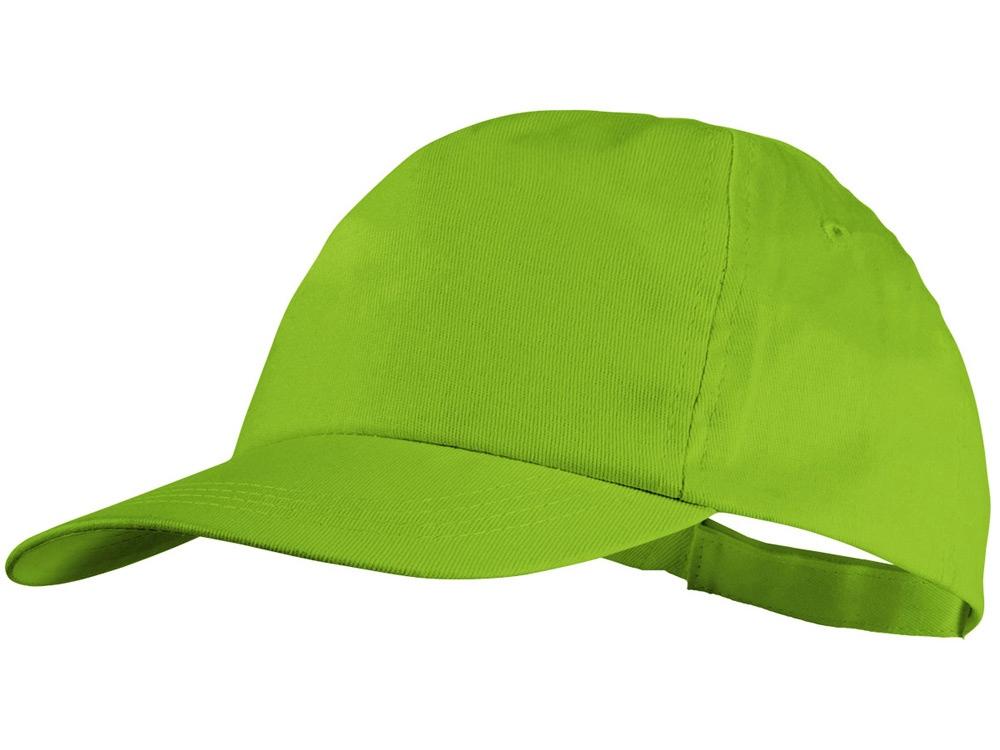 Бейсболка Basic, 5-ти панельная, зеленое яблоко