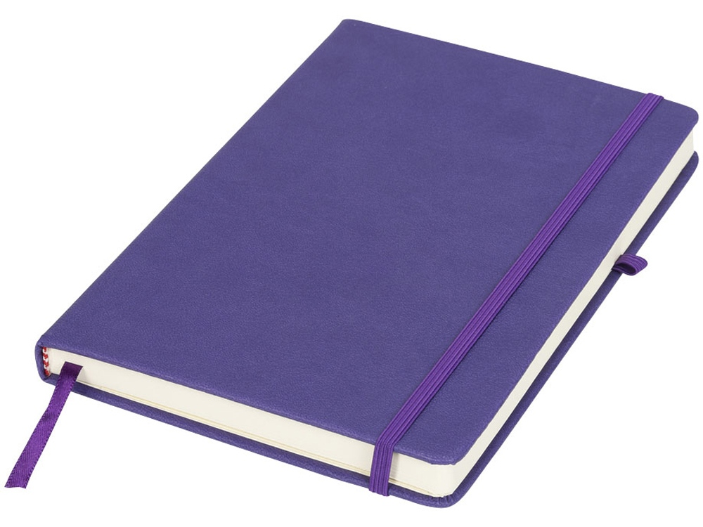 Блокнот Rivista среднего размера, пурпурный