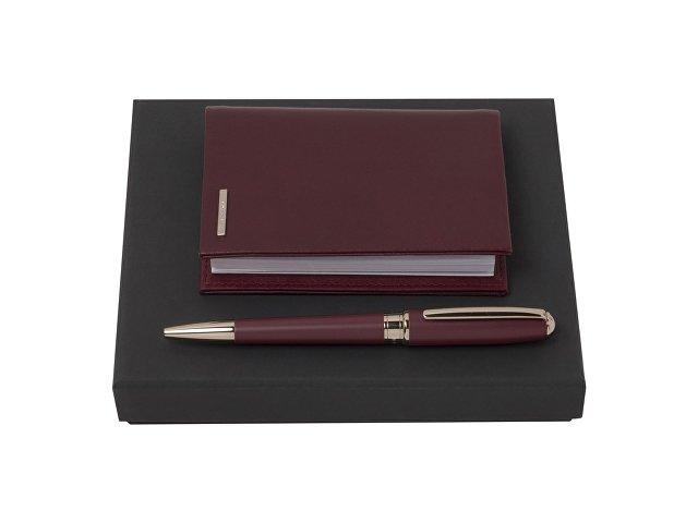 Подарочный набор: блокнот А7, ручка шариковая