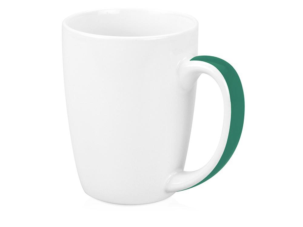 Кружка Good Day 320мл, белый/зеленый