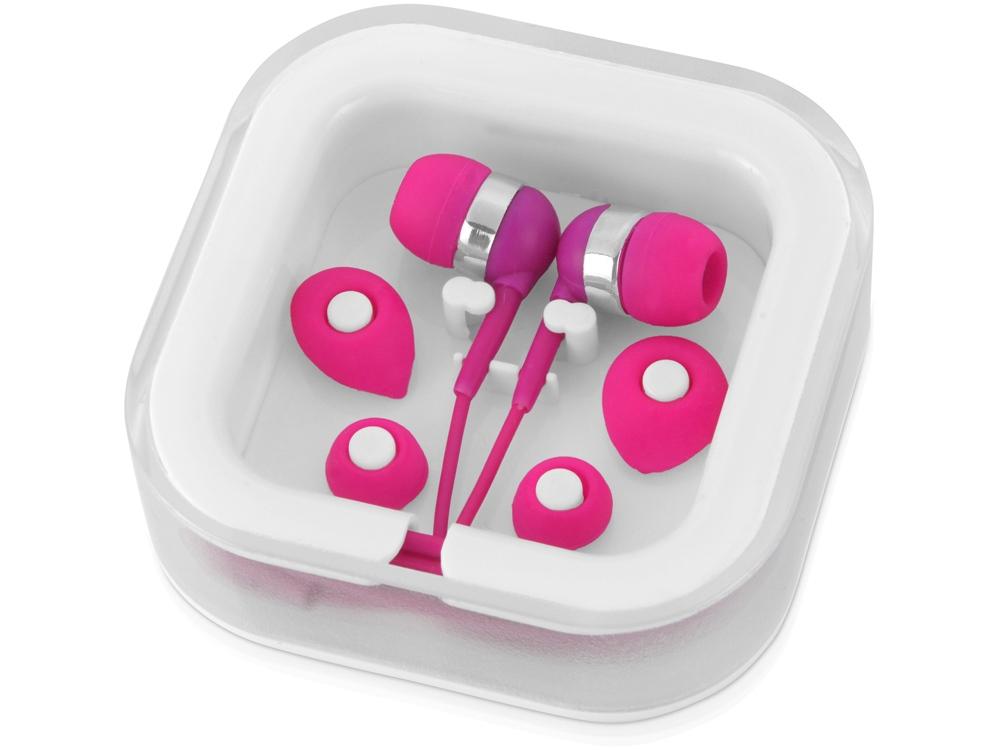 Наушники супер легкие Sargas, розовый