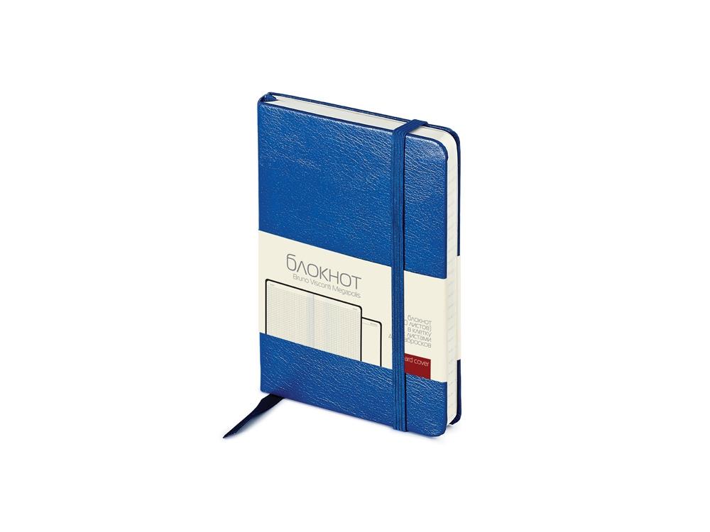 Блокнот А6 Megapolis Journal, синий