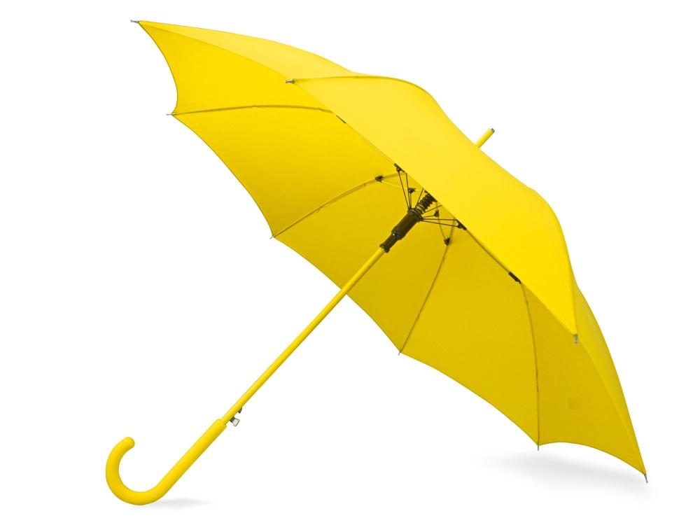 Зонт-трость Color полуавтомат, желтый