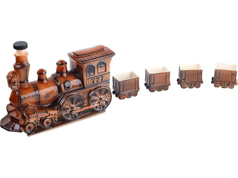 Набор для водки Железнодорожный состав