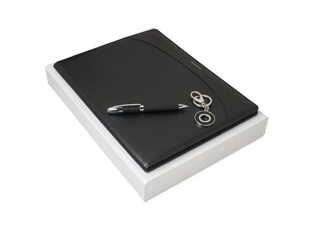 Подарочный набор Embrun: папка с блокнотом А4, ручка шариковая,