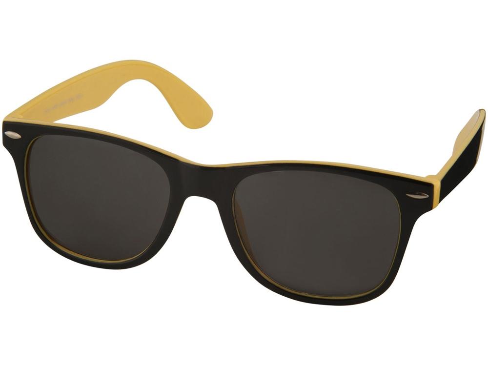 Солнцезащитные очки Sun Ray, желтый/черный