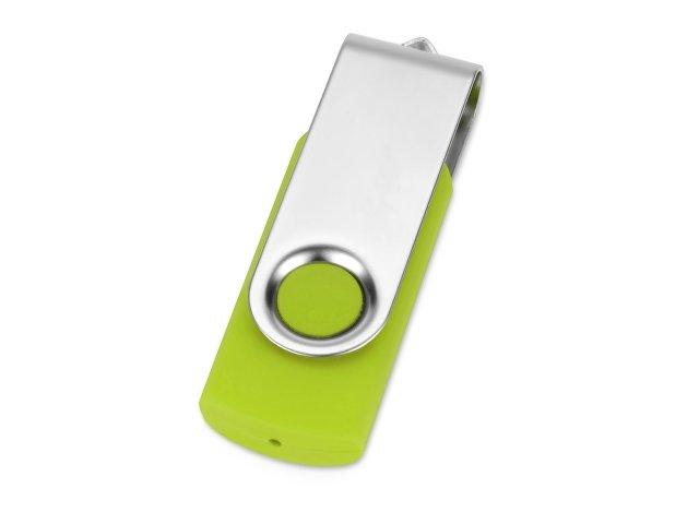 Флеш-карта USB 2.0 32 Gb «Квебек», зеленое яблоко