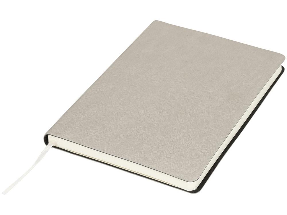 Мягкий блокнот Liberty, серый