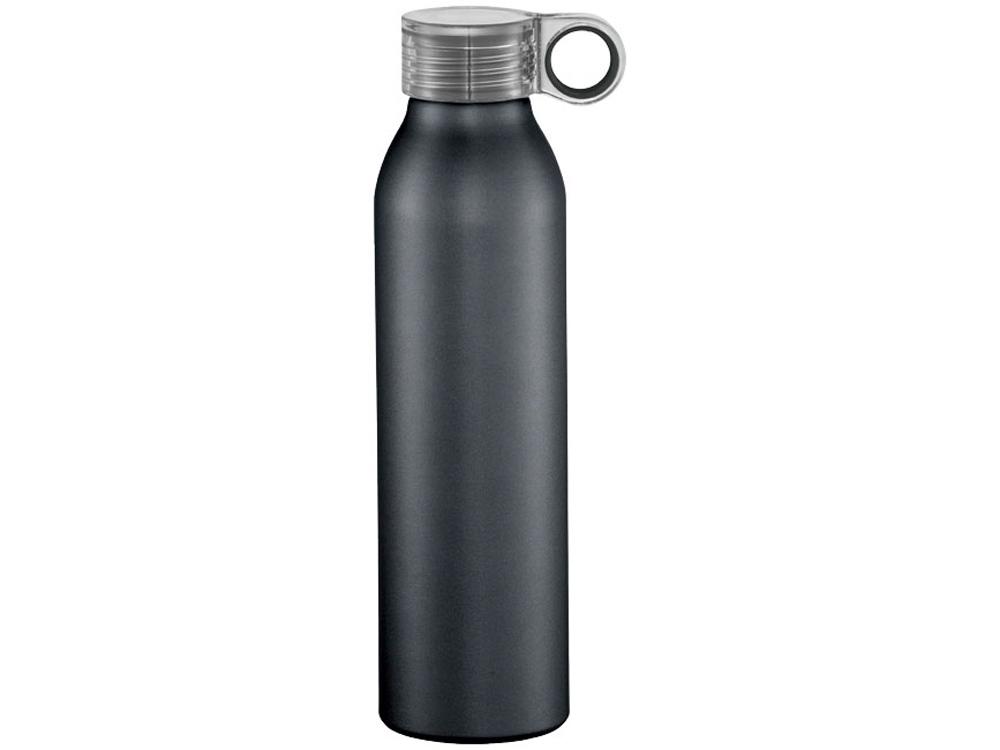 Спортивная алюминиевая бутылка Grom, черный