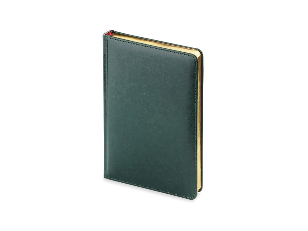 Ежедневник недатированный А5 Sidney Nebraska, зеленый