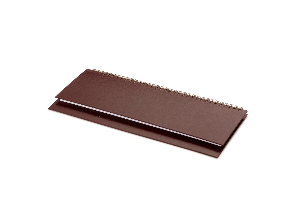 Планинг недатированный Бумвинил, коричневый