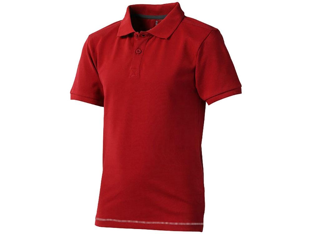Рубашка поло Calgary детская, красный/белый
