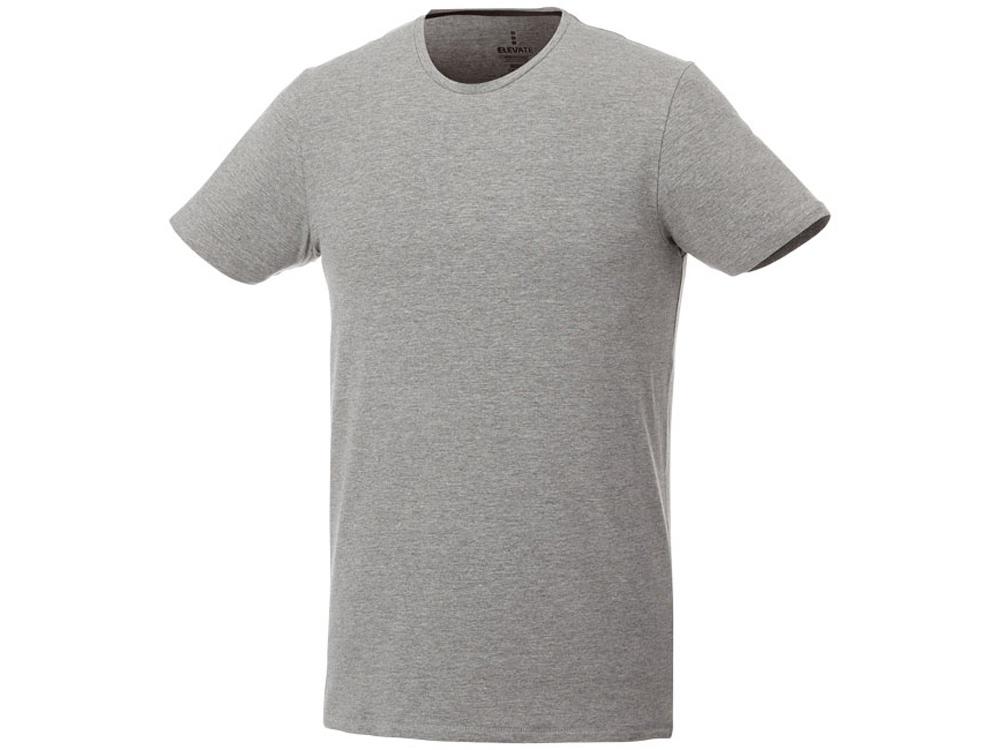 Мужская футболка Balfour с коротким рукавом из органического материала, серый меланж