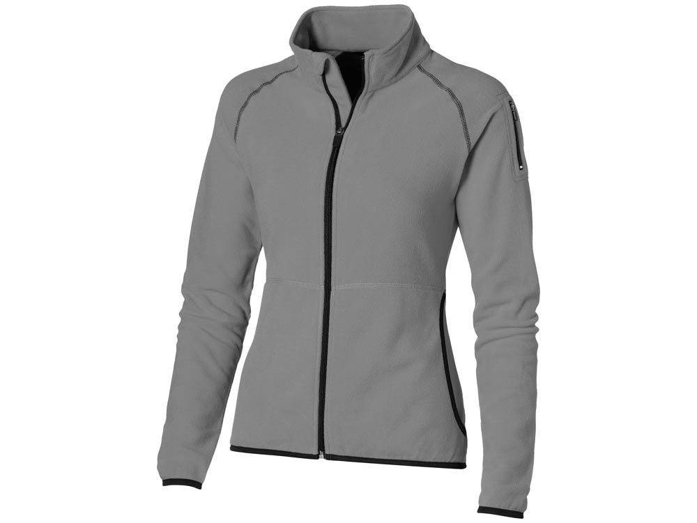 Куртка Drop Shot из микрофлиса женская, серый