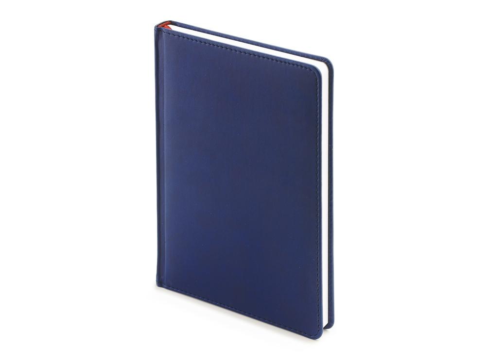 Ежедневник недатированный А4 Velvet, темно-синий