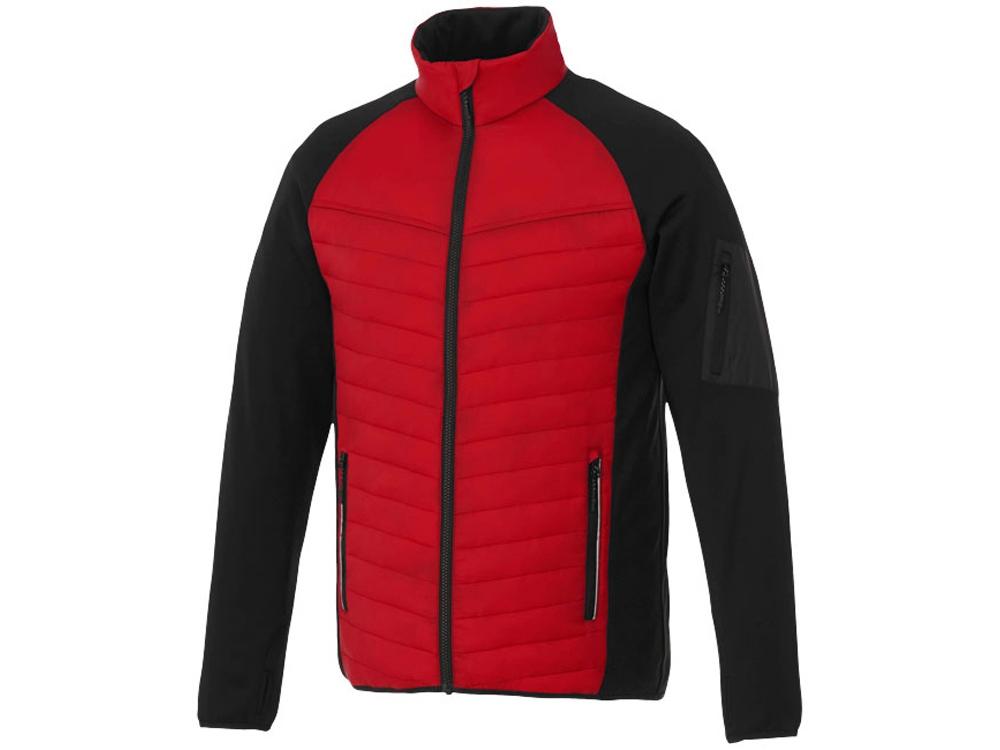 Утепленная куртка Banff мужская, красный/черный