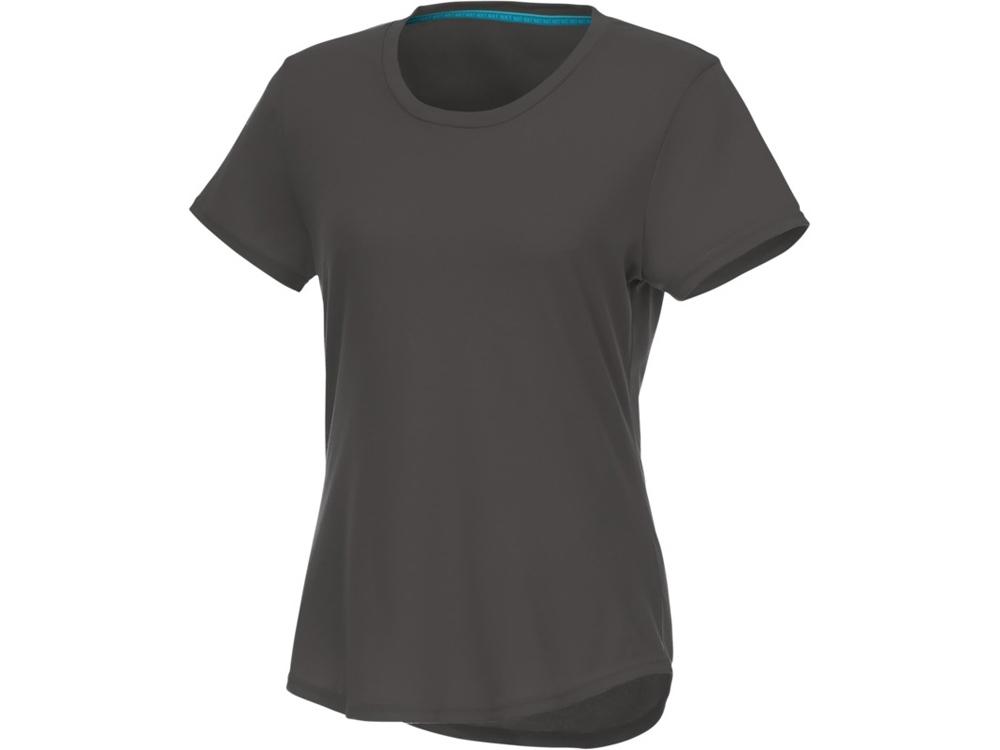 Женская футболка Jade из переработанных материалов с коротким рукавом, storm grey