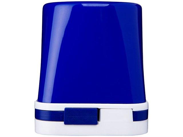 Настольный хаб Shine 4 в 1, ярко-синий