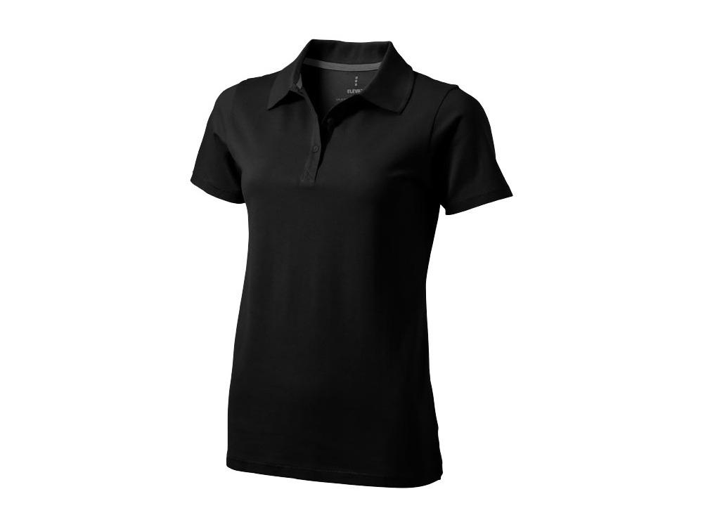 Рубашка поло Seller женская, черный