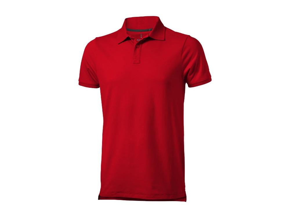 Рубашка поло Yukon мужская, красный